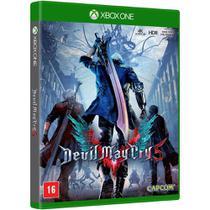 Jogo Mídia Física Devil May Cry 5 Original Para Xbox One - Capcom