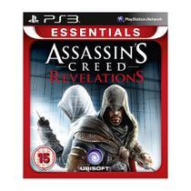 Jogo Mídia Física Essentials Assassins Creed Revelations PS3 - Ubisoft
