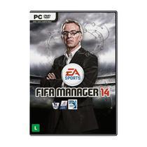 Jogo Mídia Física Fifa Manager 14 Original Computador PC - Ea