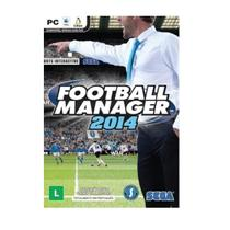 Jogo Midia Física Football Manager 2014 Original para PC - Sega