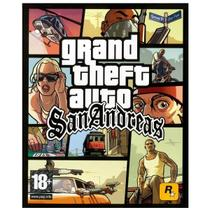 Jogo Midia Fisica Gta Grand Theft Auto San Andreas para Pc - Rockstar
