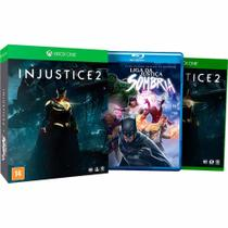 Jogo Mídia Física Injustice 2 + Filme Para Xbox One - Wb Games