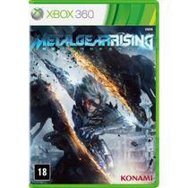 Jogo Midia Fisica Metal Gear Rising Revengeance pra Xbox 360 - Konami