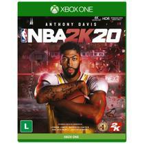 Jogo Midia Fisica Nba 2k20 Basquete Original para Xbox One - 2ksports