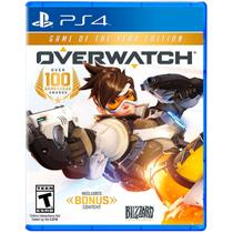 Jogo Mídia Física Overwatch Game Of The Year Edition Pra Ps4 - Blizzard