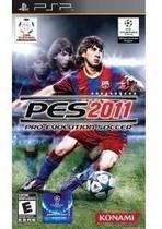 Jogo Mídia Física Pro Evolution Soccer 2011 Original Psp - Konami