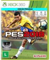 Jogo Mídia Física Pro Evolution Soccer Pes 2018 Xbox 360 - Konami
