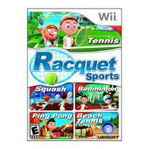 Jogo Mídia Física Racquet Sports Com câmera Nintendo Wii - Ubisoft