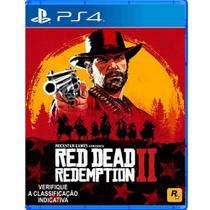 Jogo Mídia Física Red Dead Redemption 2 Original Para Ps4 - Rockstar