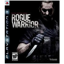 Jogo Mídia Física Rogue Warrior Dick Marcinko Original PS3 - Bethesda