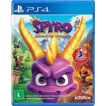 Jogo Mídia Física Spyro Reignited Trilogy Para Ps4 - Activision - Playstation 4