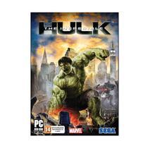 Jogo Mídia Física The Incredible Hulk Original Computador PC - Sega