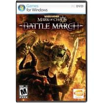 Jogo Midia Fisica WarHammer Mark of Chaos Battle March de PC - Bandai Namco