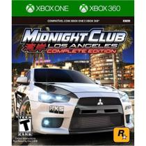 Jogo Midnight Club Los Angeles Complete Edition - Xbox 360 / Xbox One - Rockstar