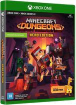 Jogo Minecraft Dungeons Hero Edition Xbox one - Mojang