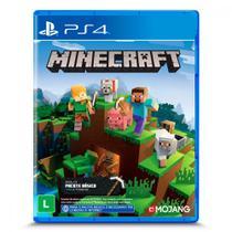 Jogo Minecraft Sony Starter Collection PlayStation 4 MOJANG -