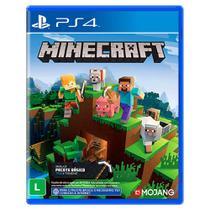 Jogo Minecraft Starter Colection - PS4 - Mojang Studios
