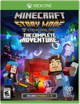 Jogo Minecraft: Story Mode - The Complete Adventure - Xbox One - TELLTALE -