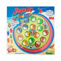 Jogo Mini Pescaria Rosa e Verde Fenix 838  Fenix Brinquedos -