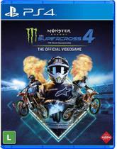 Jogo Monster Energy Supercross 4 - PS4 - Milestone