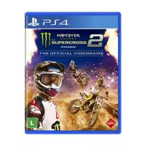 Jogo Monster Energy Supercross - The Official Videogame 2 - PS4 - Square enix