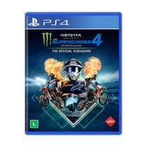Jogo Monster Energy Supercross - The Official Videogame 4 - PS4 - Milestone