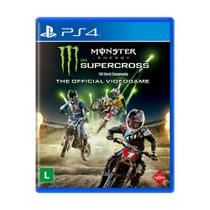 Jogo Monster Energy Supercross (The Official Videogame) - PS4 - Milestone