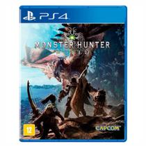 Jogo Monster Hunter World Ps4 - Capcom