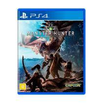 Jogo Monster Hunter: World - PS4 - Capcom