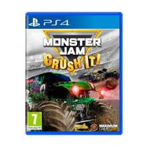 Jogo Monster Jam: Crush It! - PS4 - Maximum Games