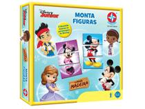 Jogo Monta Figuras Disney Junior - Estrela (282) -