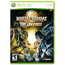 Jogo Mortal Kombat vs DC Universe - Xbox 360 - Wb games