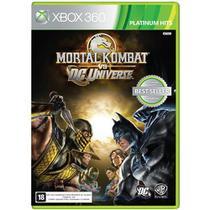 Jogo Mortal Kombat vs DC - Xbox 360 - Warner bros