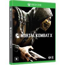 Jogo - Mortal Kombat X - Xbox one - Microsoft