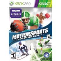 Jogo MotionSports Play For Real KINECT para Xbox 360 Mídia Física - Ubisoft