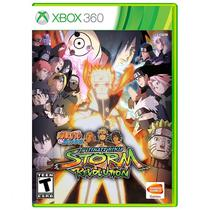 Jogo Naruto Shippuden Ultimate Ninja Storm Revolution - Xbox 360 - Bandai namco entertainment