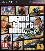 Jogo Novo Grand Theft Auto V Gta 5 Para Playstation 3 - Rockstar