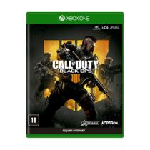 Jogo Novo Mídia Física Call Of Duty Black Ops 4 pra Xbox One - Activision