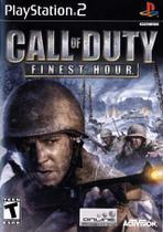 Jogo Novo Mídia Física Call Of Duty Finest Hour Original Ps2 - Activision