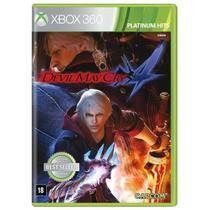 Jogo Novo Midia Fisica Devil May Cry 4 Original pra Xbox 360 - Capcom
