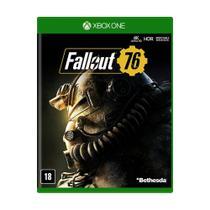 Jogo Novo Mídia Física Fallout 76 Bethesda Para Xbox One -