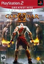 Jogo Novo Midia Fisica God of War 2 Greatest Hits para Ps2 - Sony