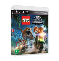 Jogo Novo Midia Fisica Lego Jurassic World Original para Ps3 - Wb games