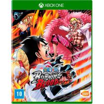 Jogo Novo Midia Fisica One Piece Burning Blood para Xbox One - Bandai namco