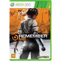 Jogo Novo Midia Fisica Remember Me da Capcom para Xbox 360 -