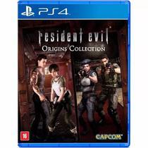 Jogo Novo Midia Fisica Resident Evil Origins Collection Ps4 - Capcom