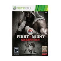 Jogo Novo Original Para Xbox 360 Fight Night Champion - Ea