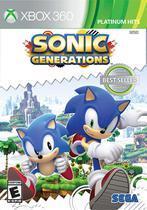 Jogo Ntsc Lacrado Sonic Generations Da Sega Para Xbox 360 -