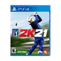 Jogo Original Midia Fisica PGA Tour 2K21 Play Station 4 - 2Ksports