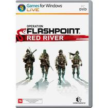 Jogo p/ PC Operation Flashpoint Red River DVD Mídia Física - Codemasters
